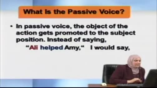 What is the Passive Voice?