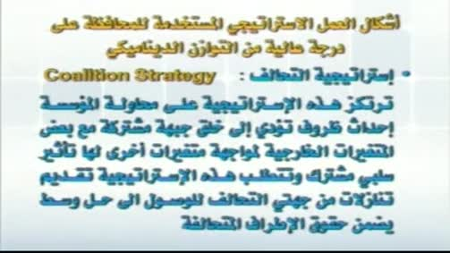 استراتيجية التحالف
