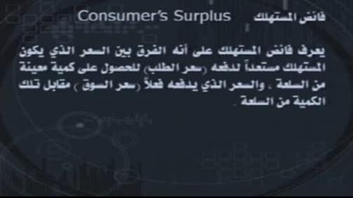 فائض المستهلك