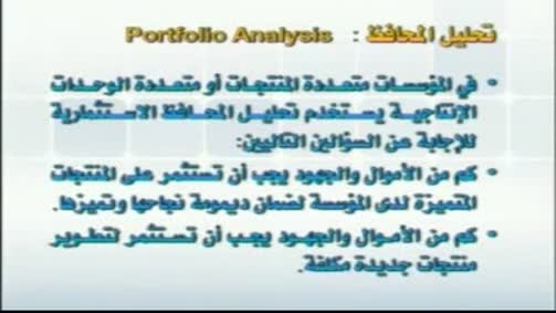 تحليل المحافظ
