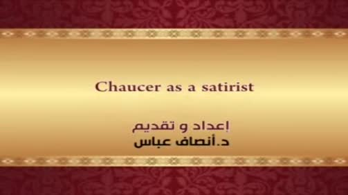 Chaucer as a satirist