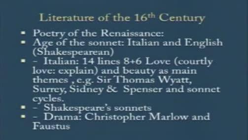 The Italian Sonnets