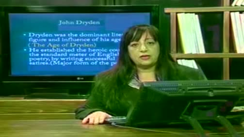 John Dryden and the Restoration Period