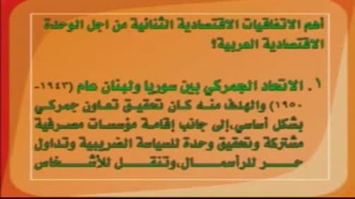 الاتحاد الجمركي بين سوريا ولبنان (1943-1950)