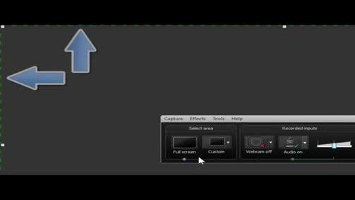 تسجيل شاشة الحاسوب باستخدام برنامج كامتازيا وتحرير التسجيل