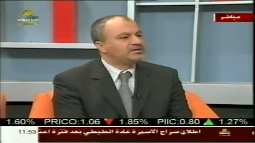 مقابلة د.م. عماد الهودلي و د.م. يوسف صباح على تلفزيون فلسطين