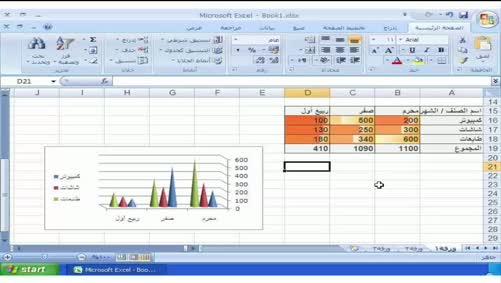 برنامج Excel 2007 - أساسيات البرنامج - الخروج من البرنامج