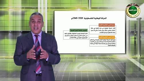 فلسطين والقضية الفلسطينية - الحركة الوطنية الفلسطينية 1939 - 1949م