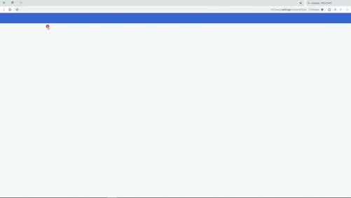 طريقة تفعيل مكون الفلاش في متصفح كروم للوصول للصف الافتراضي-حالة1