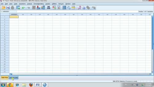 الجانب العملي للإحصاء التطبيقي-تعريف البيانات