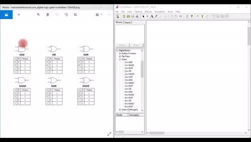 التجارب العملية الثالثة والرابعة لمقرر تصميم منطق الحاسوب - اعداد المهندس منذر اغوير من فرع بيت لحم