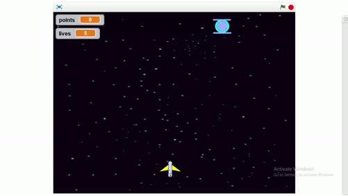أساسيات الحاسوب والبرمجة - 5285 - المحاضرة السادسة - لعبة الفضاء القسم 1